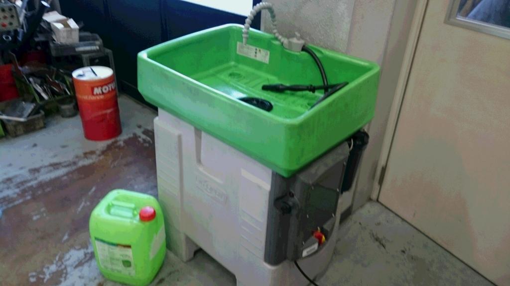 バイオサークルにてバイク部品洗浄|株式会社サンダンスエンタープライズ様の納入実績