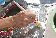 ステンレス、アルミ非鉄金属用洗浄剤、垂直面固定さび取り剤「E-NOX-Clean」 1ℓ×2本セット/30ℓ入り